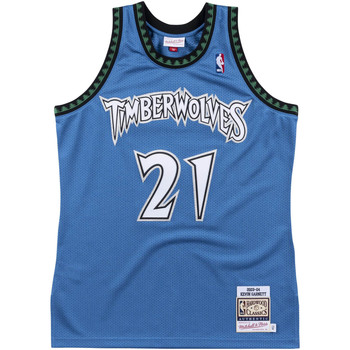 Vêtements Débardeurs / T-shirts sans manche Mitchell And Ness Maillot NBA Authentique Kevin Multicolore