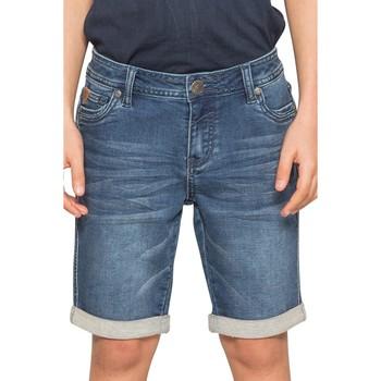 Vêtements Garçon Shorts / Bermudas Deeluxe Short BART Stone Blue