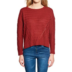 Vêtements Femme Pulls Deeluxe Pull STORY Indian Red