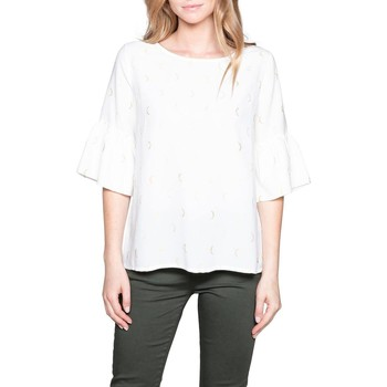 Vêtements Femme Tops / Blouses Deeluxe Blouse MADY Off White