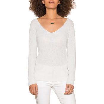 Vêtements Femme Pulls Deeluxe Pull ANDREA Off White