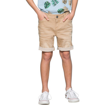 Vêtements Garçon Shorts / Bermudas Deeluxe Short BART Beige Used