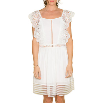 Vêtements Femme Robes Deeluxe Robe AURORE Off White