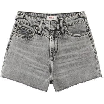 Vêtements Fille Shorts / Bermudas Pepe jeans ROXIE Gris