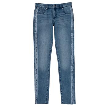 Vêtements Fille Jeans skinny Guess GABIN Bleu