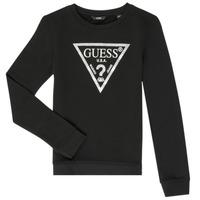 Vêtements Fille Sweats Guess GABOR Noir
