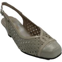 Chaussures Femme Sandales et Nu-pieds Trebede Femme ouvert chaussure habillée derrière beige