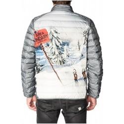 Vêtements Homme Vestes Pull-in DOUH BOUNDARY GRISE DOUDOUNE GRIS