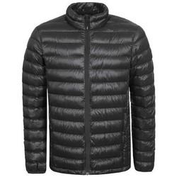 Vêtements Polaires Icepeak VINNY NOIR FULL ZIP DOUDOUNE Noir
