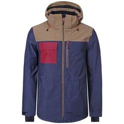 Vêtements Vestes Icepeak KEETON MEN NOIR/CAMEL VESTE DE SKI NOIR/CAMEL