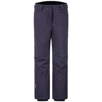 Vêtements Enfant Pantalons cargo Icepeak HEBE JR ANTHRACITE PANTALON DE SKI ANTHRACITE