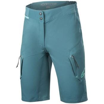 Vêtements Shorts / Bermudas Alpinestars SHORT  STELLA ALPS BLEU PETROLE Unicolor