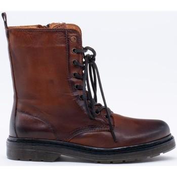 Chaussures Femme Bottines Yolanda Confort  Marrón