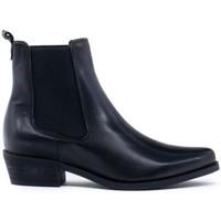 Chaussures Femme Bottines Yolanda Confort  Negro