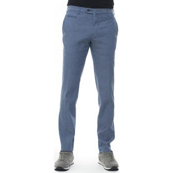 Vêtements Homme Pantalons Angelo Nardelli 1303W-D371956 azzurro