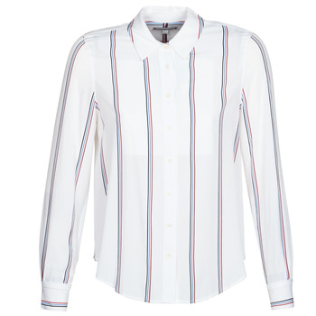 Vêtements Femme Chemises / Chemisiers Tommy Hilfiger DANEE BLOUSE LS Blanc