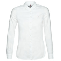Vêtements Femme Chemises / Chemisiers Tommy Hilfiger HERITAGE REGULAR FIT SHIRT Blc