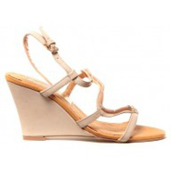Chaussures Femme Sandales et Nu-pieds Cassis Côte D'azur Chaussures Alefe Taupe Marron