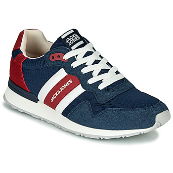 Chaussures Homme Baskets basses Jack & Jones STELLAR MECH Marine / rouge