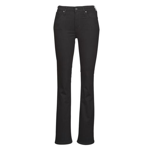Vêtements Femme Jeans bootcut Levi's 725 HIGH RISE BOOTCUT Noir