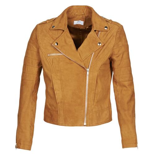 Vêtements Femme Vestes en cuir / synthétiques Betty London MARILINE Cognac