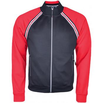 Sweat-shirt Armani Veste sweat zippée Exchange noire et rouge pour homme