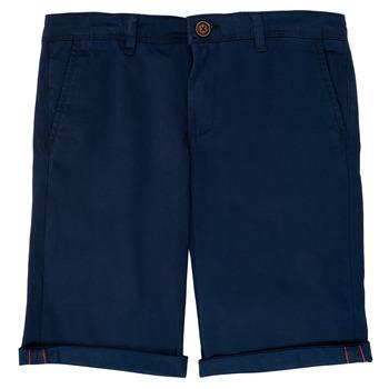Vêtements Garçon Shorts / Bermudas Jack & Jones JJIBOWIE Marine