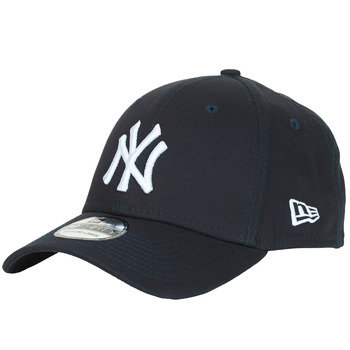 Accessoires textile Casquettes New-Era LEAGUE BASIC 39THIRTY NEW YORK YANKEES Marine / Blanc