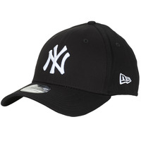 Accessoires textile Casquettes New-Era LEAGUE BASIC 39THIRTY NEW YORK YANKEES Noir / Blanc
