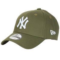 Accessoires textile Casquettes New-Era LEAGUE ESSENTIAL 9FORTY NEW YORK YANKEES Kaki