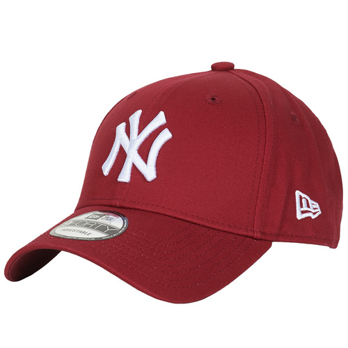 Accessoires textile Casquettes New-Era LEAGUE ESSENTIAL 9FORTY NEW YORK YANKEES Rouge