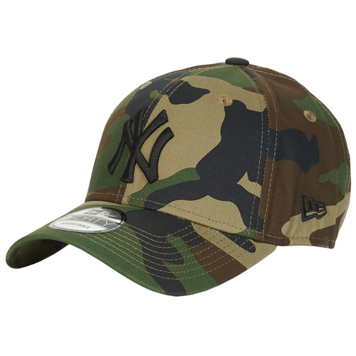 Accessoires textile Casquettes New-Era LEAGUE ESSENTIAL 9FORTY NEW YORK YANKEES Camouflage / Kaki