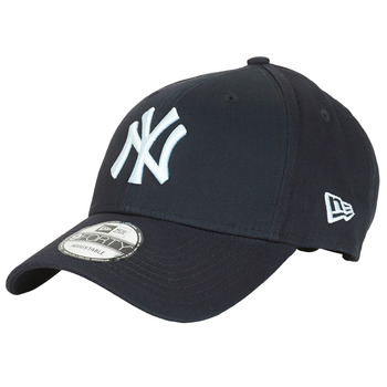 Accessoires textile Casquettes New-Era LEAGUE BASIC 9FORTY NEW YORK YANKEES Marine / Blanc