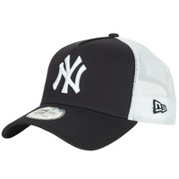Accessoires textile Casquettes New-Era CLEAN TRUCKER NEW YORK YANKEES Marine / Blanc