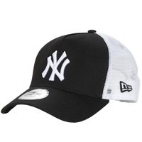 Accessoires textile Casquettes New-Era CLEAN TRUCKER NEW YORK YANKEES Noir / Blanc