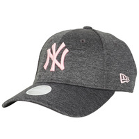 Accessoires textile Femme Casquettes New-Era ESSENTIAL 9FORTY NEW YORK YANKEES Gris / Rose