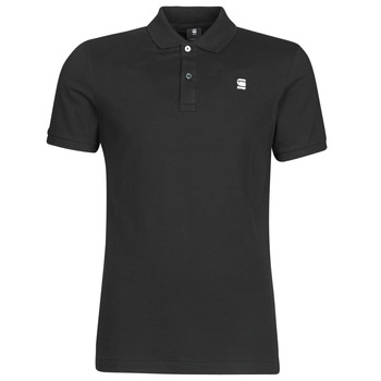 Vêtements Homme Polos manches courtes G-Star Raw Dunda slim polo ss dk black
