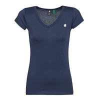 Vêtements Femme T-shirts manches courtes G-Star Raw Eyben slim v t wmn ss sartho blue