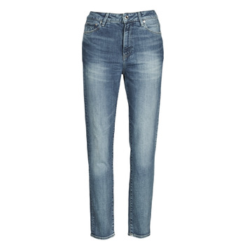 Vêtements Femme Jeans droit G-Star Raw 3301 HIGH STRAIGHT 90'S ANKLE WMN Bleu