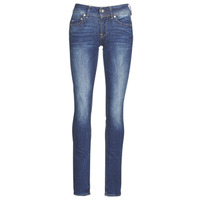 Vêtements Femme Jeans droit G-Star Raw MIDGE MID STRAIGHT WMN Kaki