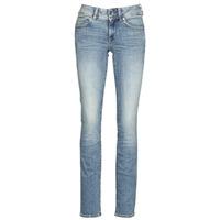 Vêtements Femme Jeans droit G-Star Raw MIDGE MID STRAIGHT WMN Bleu