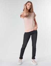 Vêtements Femme Jeans droit G-Star Raw MIDGE MID STRAIGHT WMN Gris Foncé