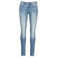 Vêtements Femme Jeans skinny G-Star Raw MIDGE ZIP MID SKINNY WMN Bleu