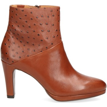 Chaussures Femme Bottines Caprice 25304 Marron