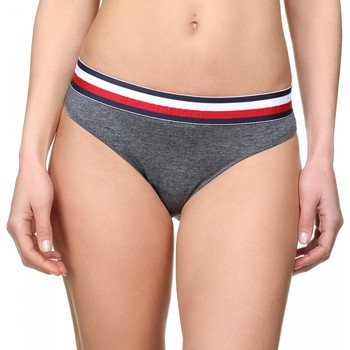 Sous-vêtements Femme Culottes & slips Tommy Hilfiger Culotte femme logotypé Gris