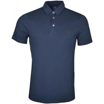 Polo Armani Polo Exchange bleu marine basique pour homme