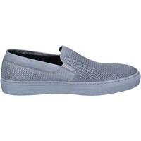 Chaussures Homme Slip ons Triver Flight slip on cuir gris