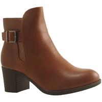 Chaussures Femme Bottines Botty Selection Femmes BOOT 950 16 DIAM COGNAC
