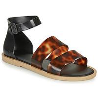Chaussures Femme Sandales et Nu-pieds Melissa MODEL SANDAL Black / Leopard