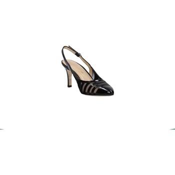 Chaussures escarpins Melluso - Sling back nero vernice E1566